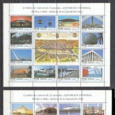 Sellos: EDIFIL 3164/87, EXPOSICIÓN UNIVERSAL SEVILLA, EXPO 92, NUEVOS ***. Lote 52428031