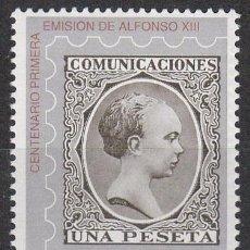 Sellos: EDIFIL 3024, CENTENARIO DE LA PRIMERA EMISION DE ALFONSO XIII, NUEVO ***. Lote 52506688