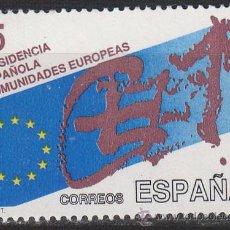 Sellos: EDIFIL 3010, PRESIDENCIA ESPAÑOLA COMUNIDADES EUROPEAS, NUEVO ***. Lote 52515384