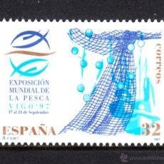 Sellos: ESPAÑA 3504** - AÑO 1997 - EXPOSICION MUNDIAL DE LA PESCA. Lote 52526389