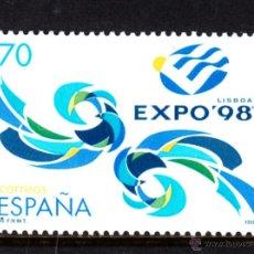 Sellos: ESPAÑA 3554** - AÑO 1998 - EXPO 98 - EXPOSICION UNIVERSAL DE LISBOA. Lote 52526513