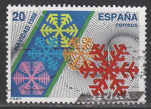 EDIFIL 2976, NAVIDAD 1988, USADO (Sellos - España - Juan Carlos I - Desde 1.986 a 1.999 - Usados)