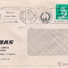 Sellos: LIBROS TORRADAS.SOBRE/VENTANILLA. BARCELONA. FECHA 7-12-83. Lote 52572791
