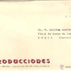 Sellos: SOBRE CON CARTA DE MADRID A LORCA, DD. 23-JUN-1979. Lote 52673252
