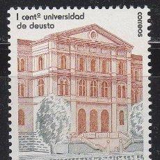 Sellos: EDIFIL 2880, CENTENARIO DE LA UNIVERSIDAD DE DEUSTO, NUEVO ***. Lote 52731704