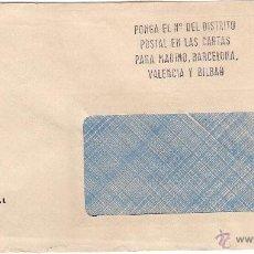 Sellos: FEDERACIÓN VIZCAÍNA DE FÚTBOL. SOBRE/VENTANILLA DD. 5-3-76. Lote 52771612