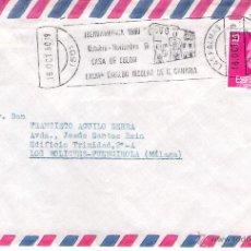 Sellos: CARTA DE LAS PALMAS A FUENGIROLA, EL 16-10-80. Lote 52810666