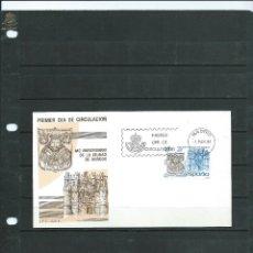 Sellos: SOBRE DE PRIMER DIA DE CIRCULACION DEL MC ANIVERSARIO DE LA CIUDAD DE BURGOS DEL AÑO 1984. Lote 52814836