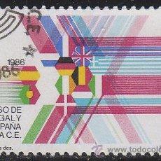 Sellos: EDIFIL 2828, INGRESO ESPAÑA Y PORTUGAL EN LA COMUNIDAD EUROPEA, NUEVO ***. Lote 52816811