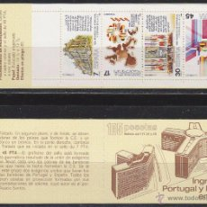 Sellos: EDIFIL 2825/8, INGRESO ESPAÑA Y PORTUGAL UNIÓN EUROPEA, CARNET SIN USAR. Lote 52816983