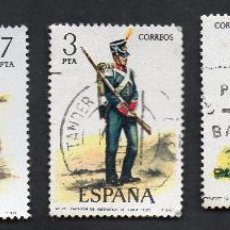 Sellos: AÑO 1976 - EDIFL 2350, 2351, 2352, 2353, 2354 - SERIE - UNIFORMES MILITARES.. Lote 52846848