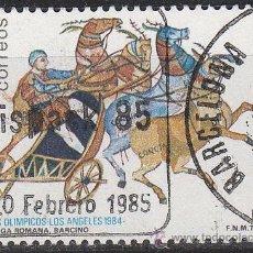 Stamps - Edifil 2768, Cuadriga romana de Barcino, Juegos olimpicos de los Angeles, usado - 114338439