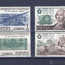 Sellos: EDIFIL 2322-2325 BICENTENARIO INDEPENDENCIA DE LOS ESTADOS UNIDOS 1976 (SERIE COMPLETA). MNH **. Lote 88975694