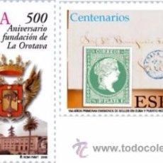 Sellos: ESPAÑA 2005. CENTENARIOS. EDIFIL Nº 4190-91. ¡¡¡A FACIAL!!!. Lote 146318258