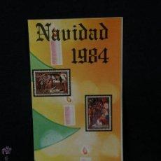 Sellos: NAVIDAD 1984 21-11-1984 INFORMACIÓN Nº 26/84 6 SELLOS 40PTA 17PTA ADORACION NATIVIDAD. Lote 52931227