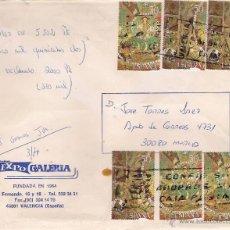 Sellos: CARTA REEMBOLSO DE VALENCIA A MADRID EL 10-5-91. Lote 52945210