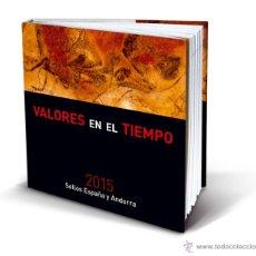 Sellos: SPAIN 2015 - SPAIN & ANDORRA COMPLETE STAMP BOOK. Lote 52964967