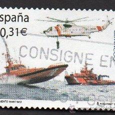 Sellos: AÑO 2008 - EDIFIL 4399 - SERIE, SALVAMENTO MARÍTIMO. Lote 52998126