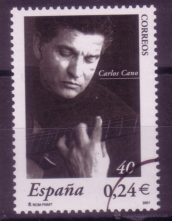 MM41-CARLOS CANO 2001. MUESTRA ** SIN FIJASELLOS. LUJO (Sellos - España - Juan Carlos I - Desde 2.000 - Nuevos)