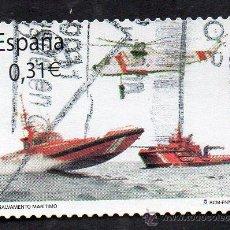 Sellos: AÑO 2008 - EDIFIL 4399 - SERIE, SALVAMENTO MARÍTIMO. Lote 53109803