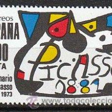 Sellos: EDIFIL 2609, CENTENARIO DE PICASSO, NUEVO ***. Lote 55117081