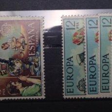 Sellos: AÑO 1976. EUROPA-CEPT. EDIFIL 2316/2317. Lote 53203870