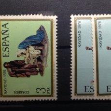 Sellos: AÑO 1976. NAVIDAD. BELENISTAS Y MISTERIO DE CASTELLS. EDIFIL 2368/2369. Lote 53204265