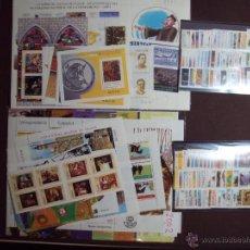 Sellos: SELLOS ESPAÑA AÑOS 2001 Y 2002 NUEVOS COMPLETOS CON HB. Lote 136789620