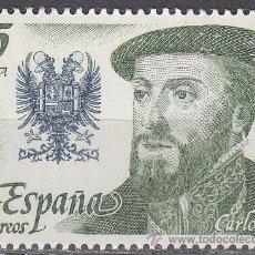 Sellos: EDIFIL 2552, CARLOS I, REYES DE ESPAÑA, CASA DE AUSTRIA, NUEVO ***. Lote 53339921