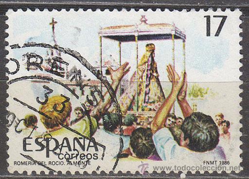 EDIFIL 2842, ROMERIA DEL ROCIO, USADO (Sellos - España - Juan Carlos I - Desde 1.986 a 1.999 - Usados)
