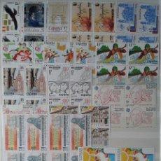 Sellos: 45 BLOQUES DE 4 SELLOS, NUEVOS, ESPAÑA, AÑO 1985. Lote 53398764
