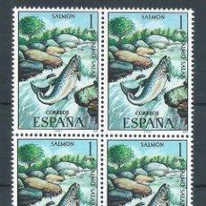 Sellos: R6/ ESPAÑA 1977, EDF. 2403 EN BL4, FAUNA HISPANICA, NUEVO**. Lote 133058409