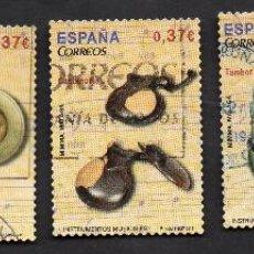 Sellos: AÑO 2013 - EDIFIL 4781, 4782, 4783, 4784 Y 4785 - SERIE, INSTRUMENTOS MUSICALES. Lote 53612304