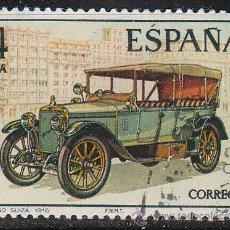 Sellos: EDIFIL 2410, AUTOMOVILES ANTIGUOS ESPAÑOLES: HISPANO SUIZA DE 1910, USADO. Lote 53663931