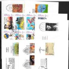 Sellos: ESPAÑA AÑO 2001 SOBRES DE PRIMER DÍA (INCOMPLETO). Lote 53758889