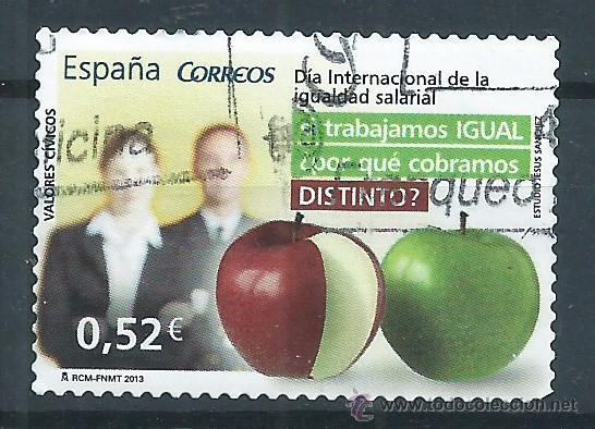 R7.B1/ ESPAÑA USADOS 2013, VALORES CIVICOS (Sellos - España - Juan Carlos I - Desde 2.000 - Usados)