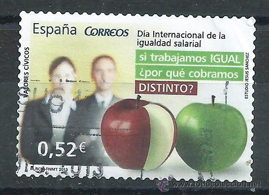 R7.B2/ ESPAÑA USADOS 2013, VALORES CIVICOS (Sellos - España - Juan Carlos I - Desde 2.000 - Usados)