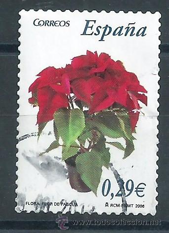 R7/ ESPAÑA USADOS 2006, EDF. 4216, FLORA Y FAUNA (Sellos - España - Juan Carlos I - Desde 2.000 - Usados)