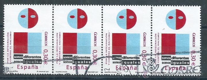 R7/ ESPAÑA USADOS 2007, EDF, 4333, VALORES CIVICOS (Sellos - España - Juan Carlos I - Desde 2.000 - Usados)