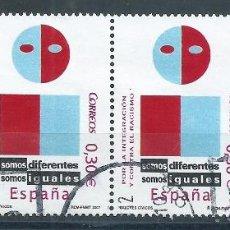 Sellos: R7/ ESPAÑA USADOS 2007, EDF, 4333, VALORES CIVICOS. Lote 54319224