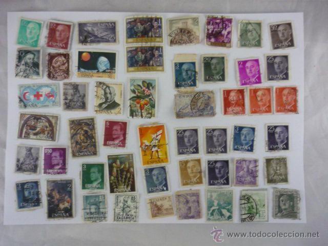 LOTE 50 SELLOS ESPAÑA (Sellos - España - Juan Carlos I - Desde 1.975 a 1.985 - Usados)