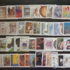 Sellos: SELLOS ESPAÑA 2001** NUEVOS, CON LOS MINIPLIEGOS SEGUN FOTOGRAFIA. Lote 53438978