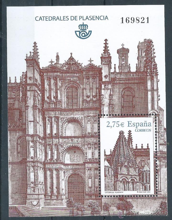 R8/ ESPAÑA EN NUEVO** 2010, EDF, 4552, CATEDRALES (Sellos - España - Juan Carlos I - Desde 2.000 - Nuevos)