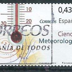 Sellos: R8/ ESPAÑA USADOS 2008, EDF, 4385, CIENCIA. Lote 54556088