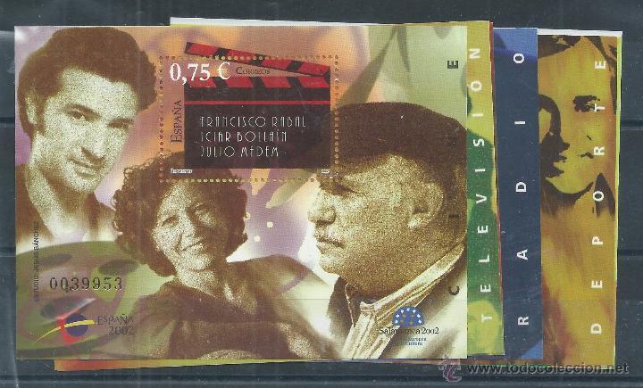 R7/ ESPAÑA EN NUEVO** 2002, EDF, 3944/50, EXPOSICION MUNDIAL DE FILATELIA JUVENIL ESPAÑA 2002... (Sellos - España - Juan Carlos I - Desde 2.000 - Nuevos)