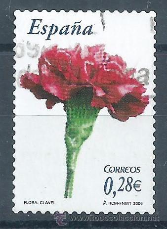 R8/ ESPAÑA USADOS 2006, EDF, 4212, FLORA Y FAUNA (Sellos - España - Juan Carlos I - Desde 2.000 - Usados)
