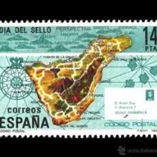 Sellos: ESPAÑA 1982. EDIFIL 2668. DÍA DEL SELLO. NUEVO** MNH. Lote 49357922