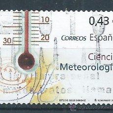 Sellos: R8/ ESPAÑA USADOS 2008, EDF, 4385, CIENCIAS. Lote 54955420