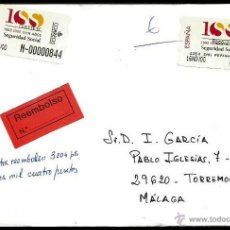 Timbres: ATM 41 SEGURIDAD SOCIAL CERTIFICADO. Lote 55007323