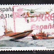 Sellos: AÑO 2008 - EDIFIL 4399 - SERIE, SALVAMENTO MARÍTIMO. Lote 55080602